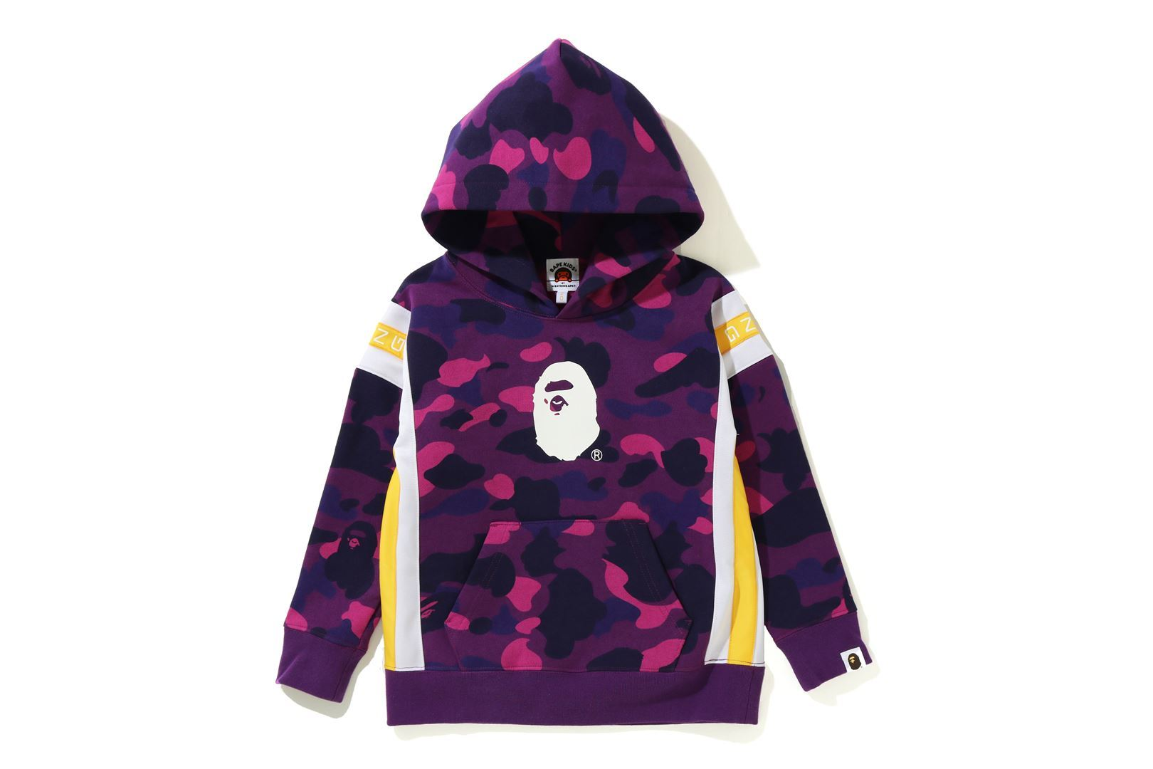 COLOR CAMO LOGO TAPE PULLOVER HOODIE_a0174495_13523168.jpg