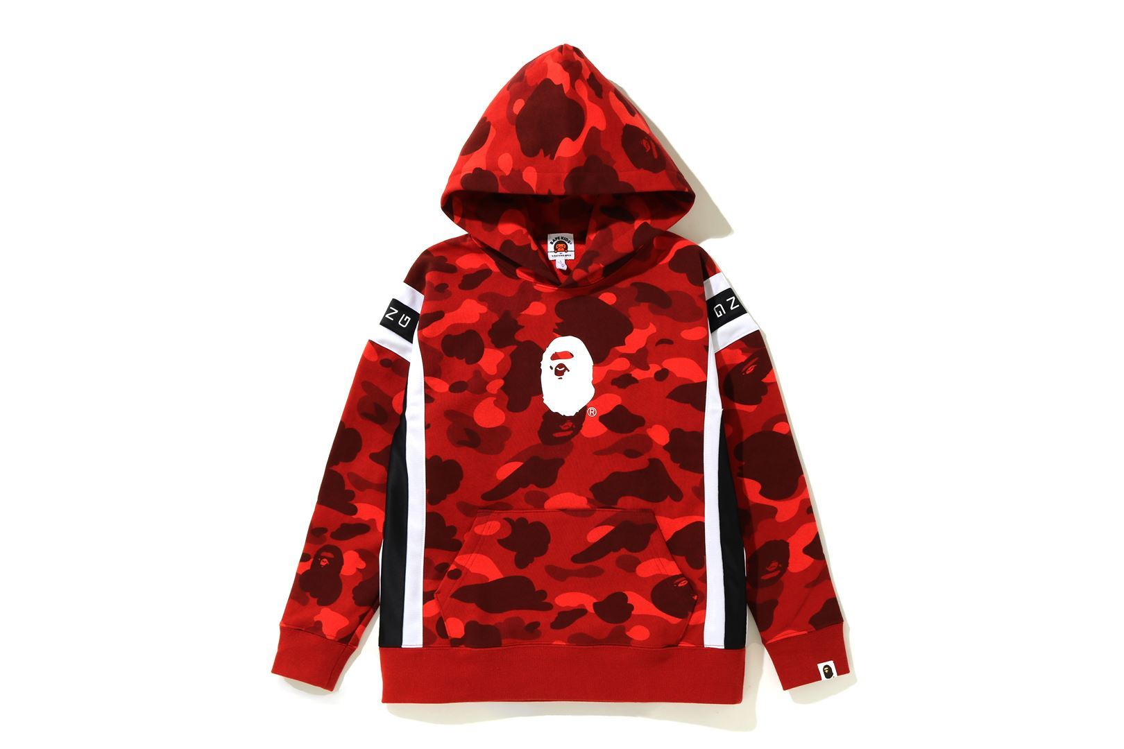 COLOR CAMO LOGO TAPE PULLOVER HOODIE_a0174495_13543170.jpg