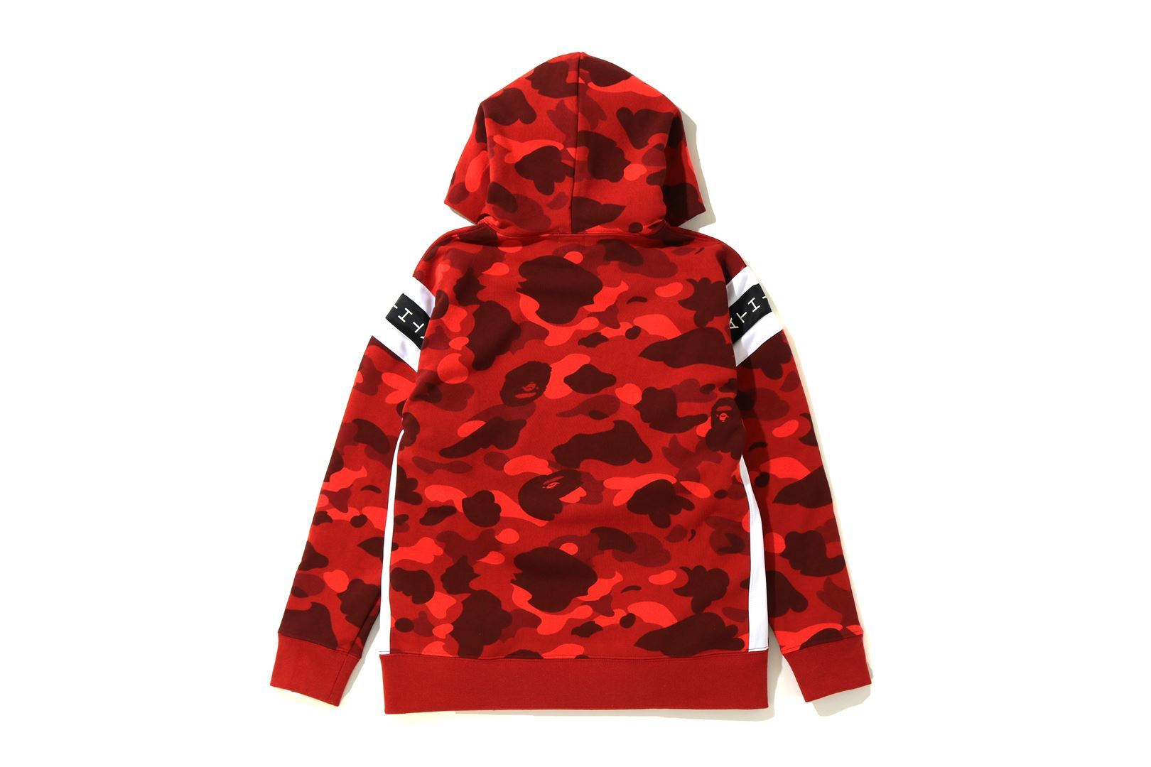 COLOR CAMO LOGO TAPE PULLOVER HOODIE_a0174495_13543930.jpg