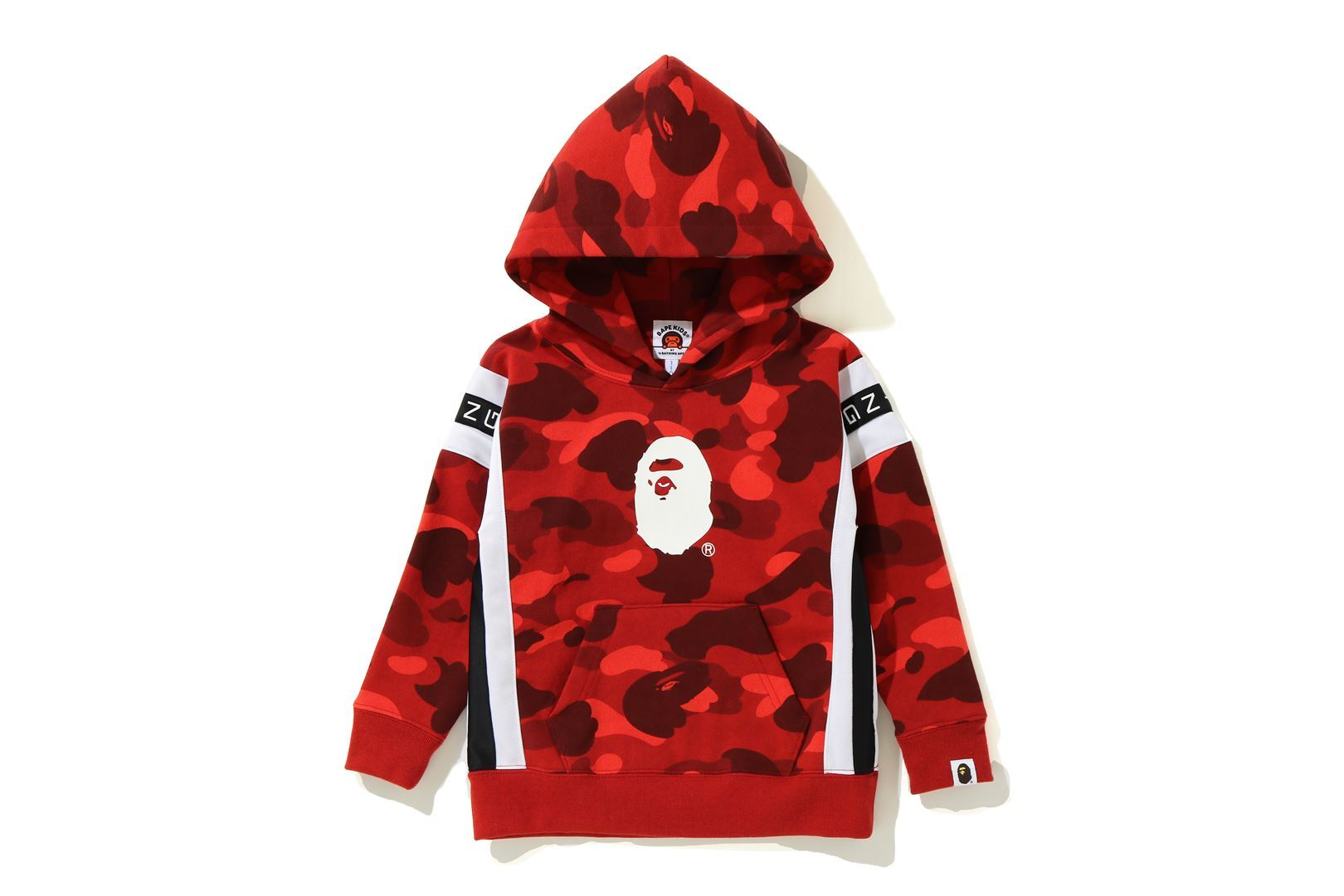 COLOR CAMO LOGO TAPE PULLOVER HOODIE_a0174495_13554711.jpg