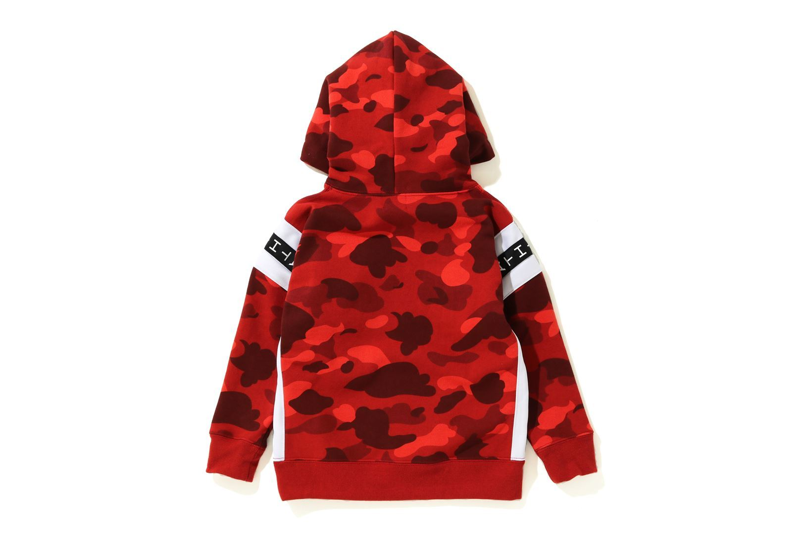 COLOR CAMO LOGO TAPE PULLOVER HOODIE_a0174495_13555583.jpg