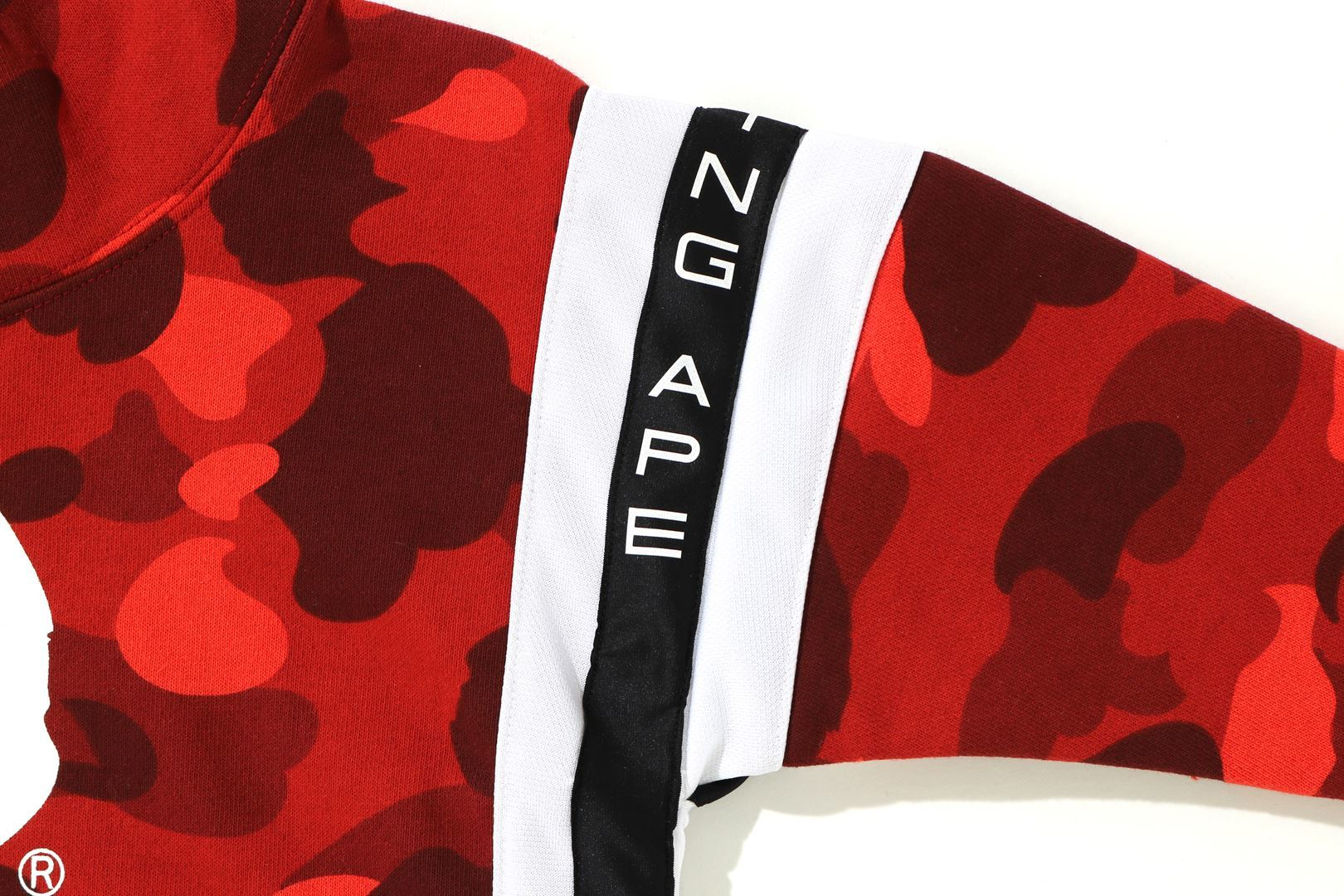 COLOR CAMO LOGO TAPE PULLOVER HOODIE_a0174495_13564383.jpg