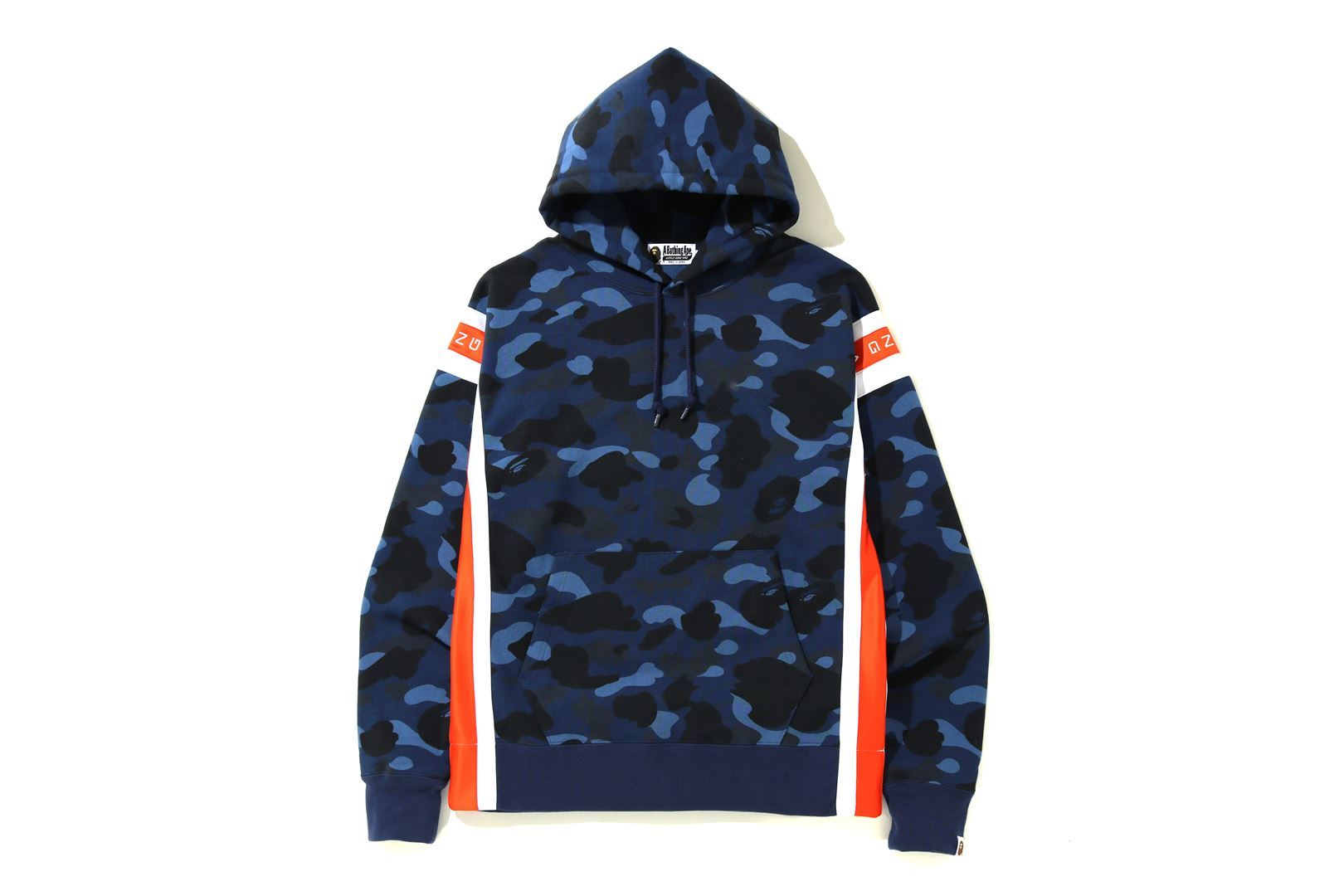 COLOR CAMO LOGO TAPE PULLOVER HOODIE_a0174495_13590698.jpg