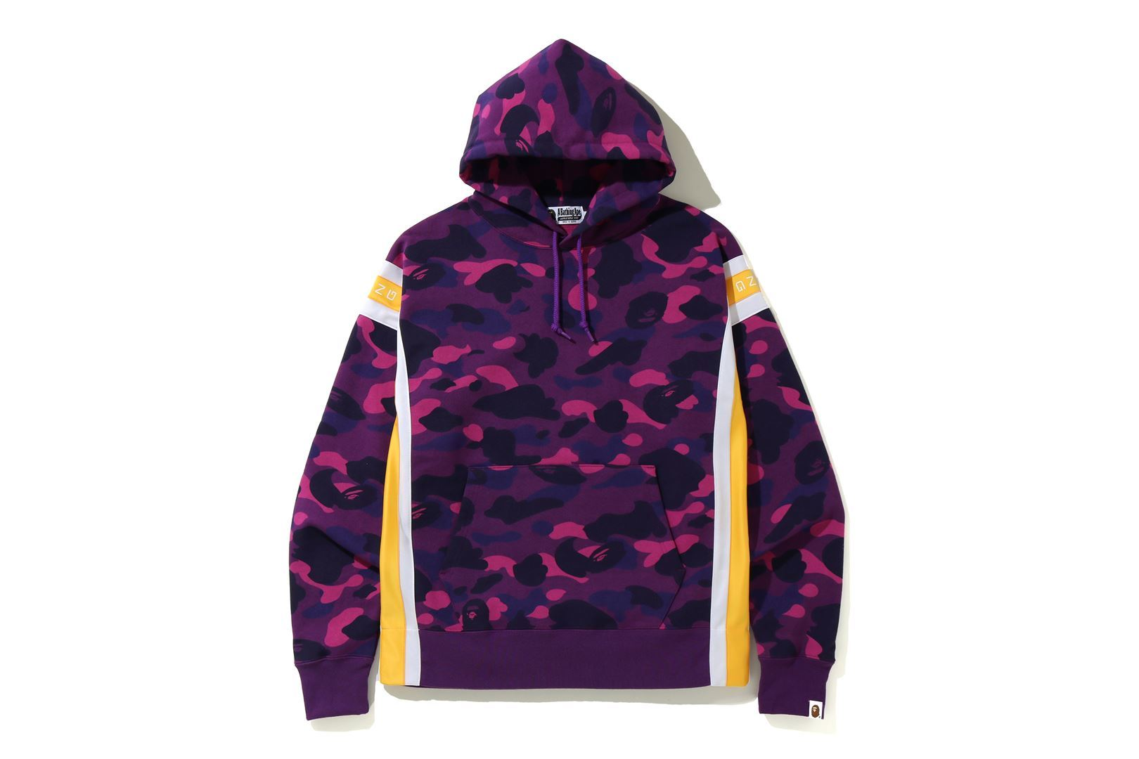 COLOR CAMO LOGO TAPE PULLOVER HOODIE_a0174495_13594610.jpg