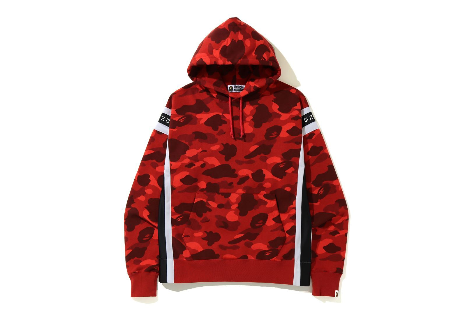 COLOR CAMO LOGO TAPE PULLOVER HOODIE_a0174495_14002739.jpg