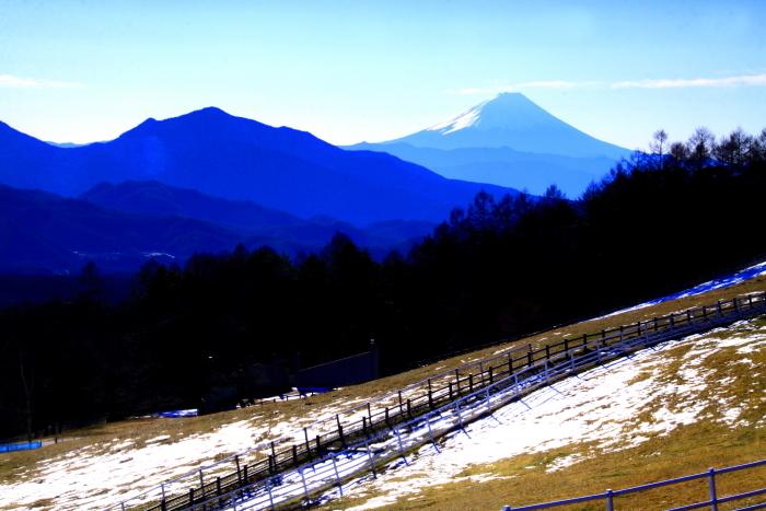 令和2年1月の富士 (13) まきば公園からの富士_e0344396_11322625.jpg