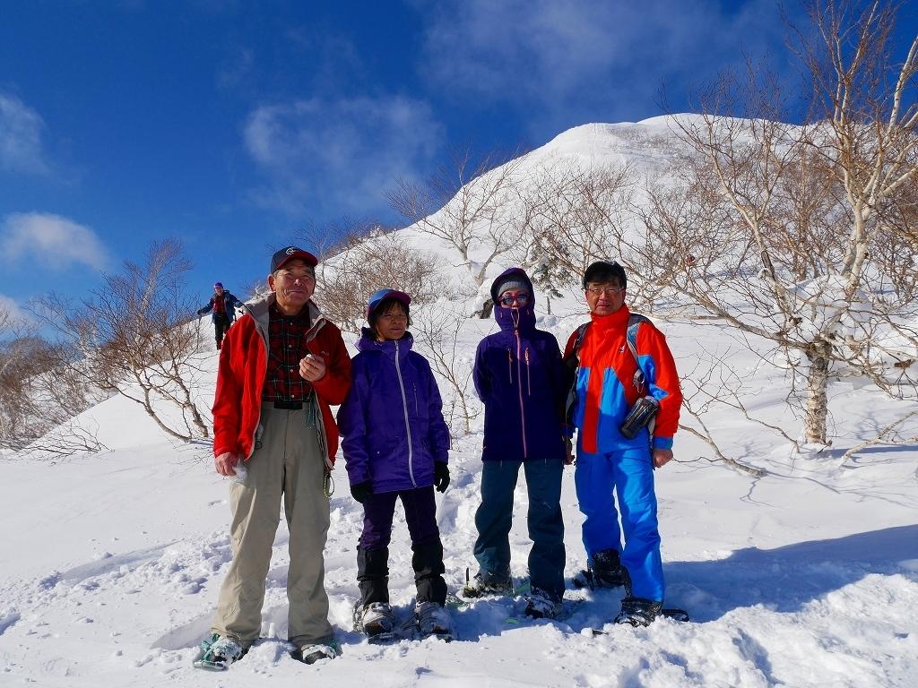快晴の紋別岳、2020.1.18_f0138096_17541142.jpg