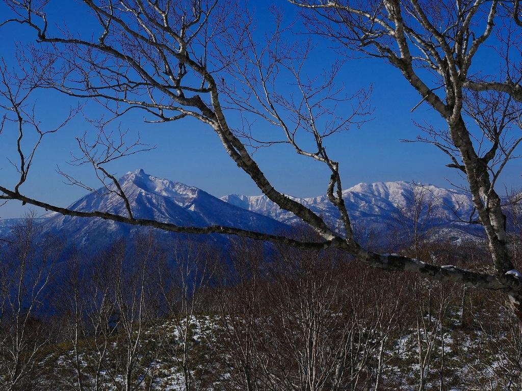快晴の紋別岳、2020.1.18_f0138096_17545034.jpg