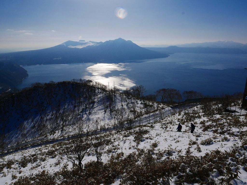 快晴の紋別岳、2020.1.18_f0138096_17545458.jpg