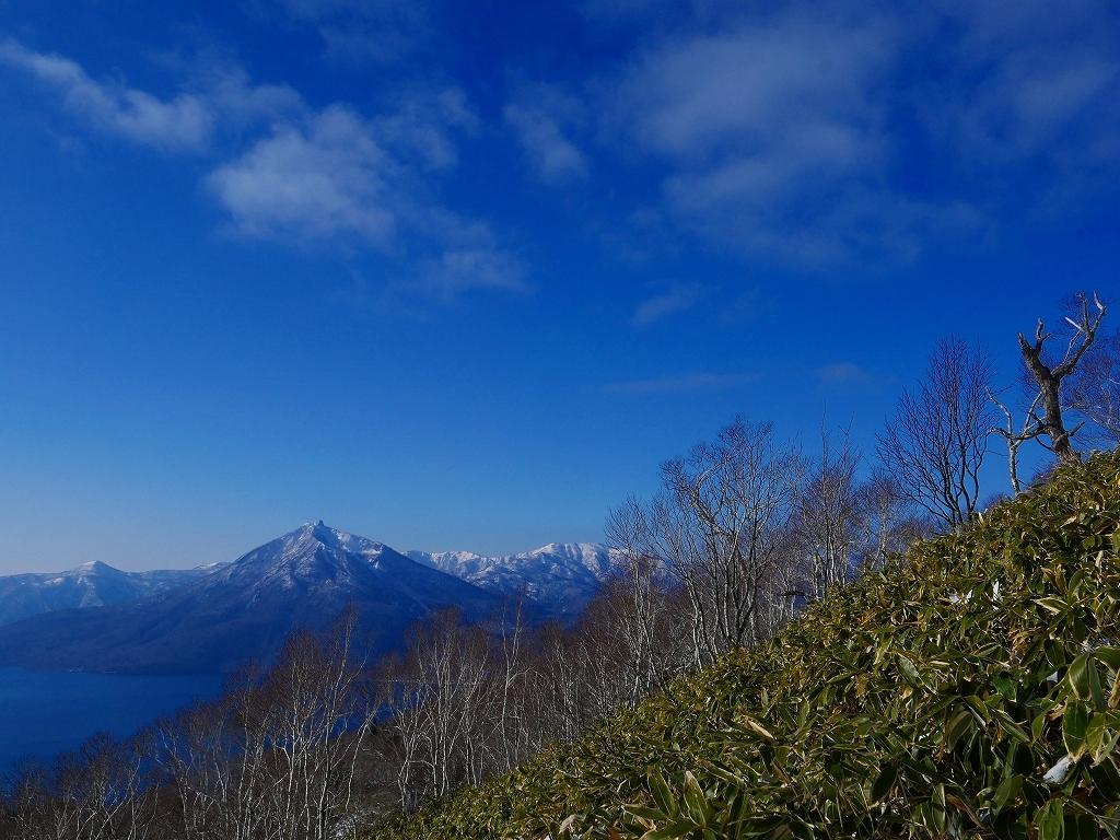 快晴の紋別岳、2020.1.18_f0138096_17550249.jpg