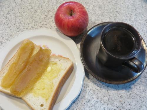 朝:保養センターの朝食 昼:干し🍠添えトースト&コーヒー 夜:くら寿司の天丼_c0075701_19545700.jpg