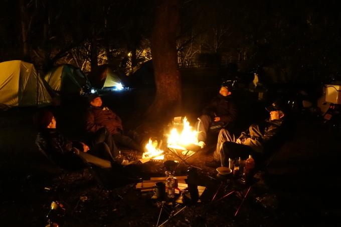 2/15.16 バイクで極寒キャンプin若松菖蒲谷キャンプ場_f0061705_13315305.jpg