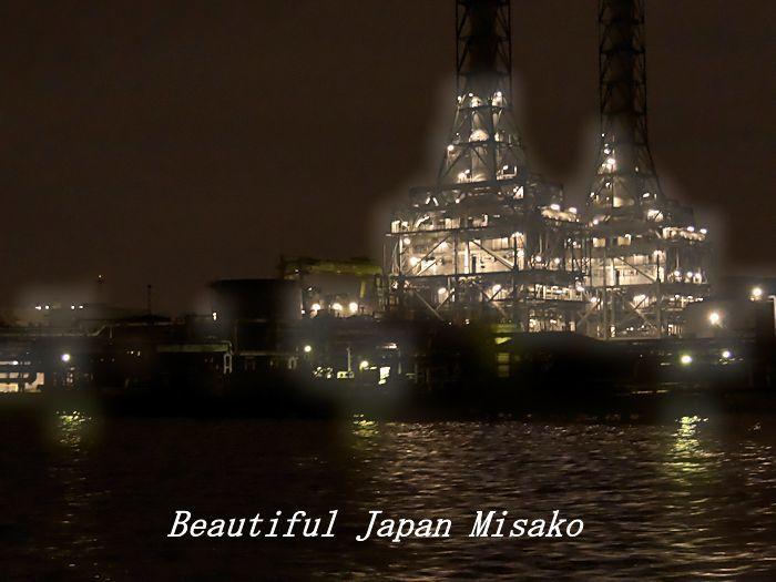 工場夜景ジャングルクルーズ・゚☆、・:`☆・・゚・゚☆。横浜_c0067206_12315344.jpg