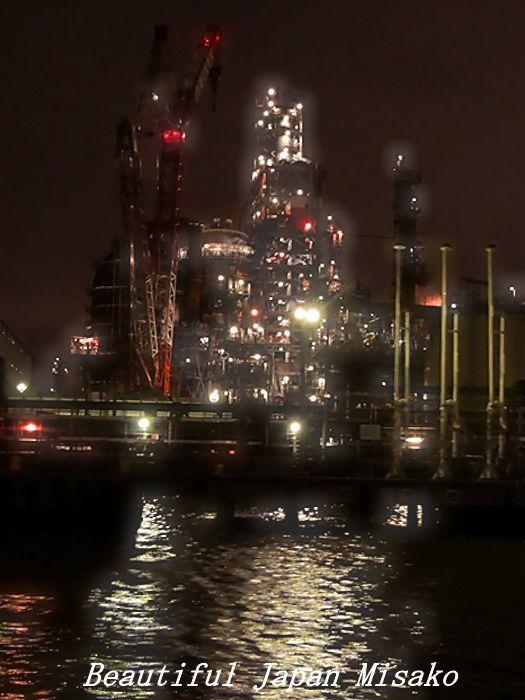 工場夜景ジャングルクルーズ・゚☆、・:`☆・・゚・゚☆。横浜_c0067206_12321917.jpg