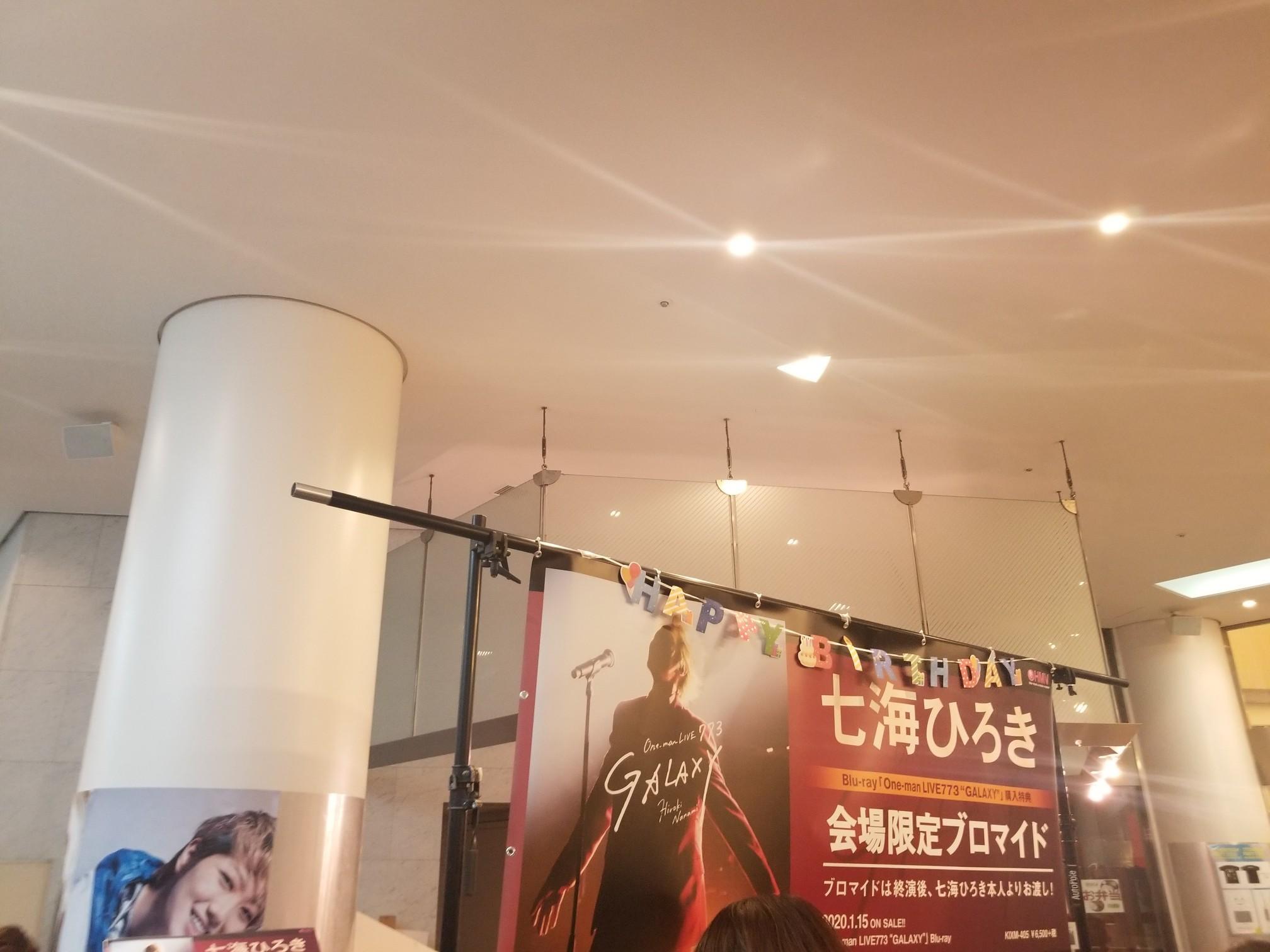 ♪2020年初観劇★七海ひろきさんバースディーパーティー_d0162225_16185870.jpg