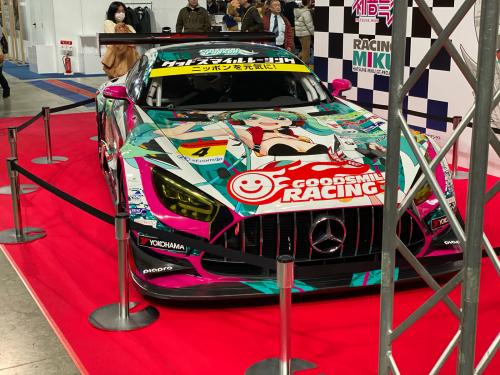 今日は札幌モーターショーに来ています。_a0309631_15002125.jpg