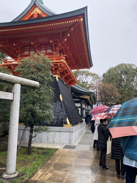 早稲田の穴八幡神社へお参りに☆_c0152341_16034693.jpg