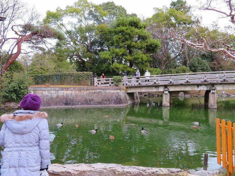 京都御苑「九条邸跡と厳島神社」20200118_e0237645_16340274.jpg