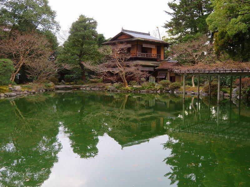 京都御苑「九条邸跡と厳島神社」20200118_e0237645_16340322.jpg