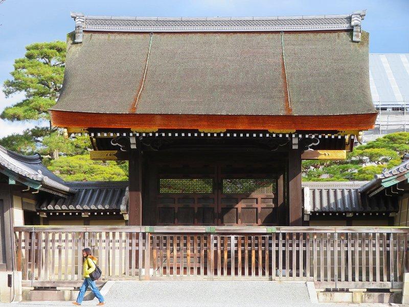 京都御苑「京都御所に沢山の訪問者」20200118_e0237645_16580857.jpg