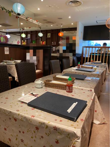 「ジャスミンパレス 横浜店」ベトナム料理の定食屋さんって感じで良いですね。_f0054556_11014913.jpg