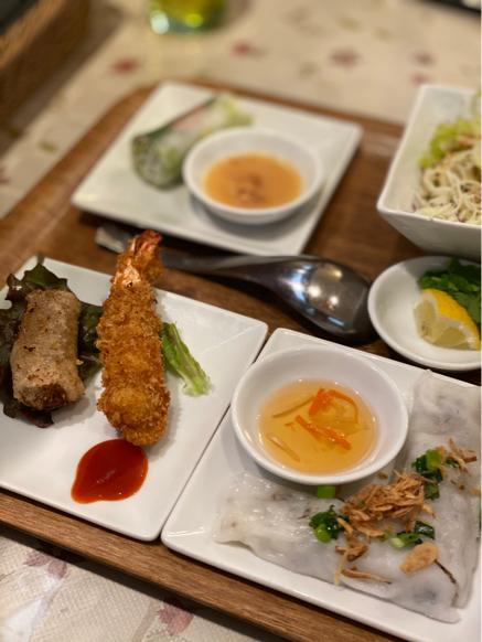 「ジャスミンパレス 横浜店」ベトナム料理の定食屋さんって感じで良いですね。_f0054556_11073504.jpg