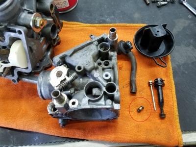 CB400SF VTECⅢ 車検整備②_e0114857_10092158.jpg