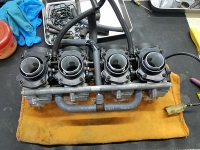 CB400SF VTECⅢ 車検整備②_e0114857_10123612.jpg