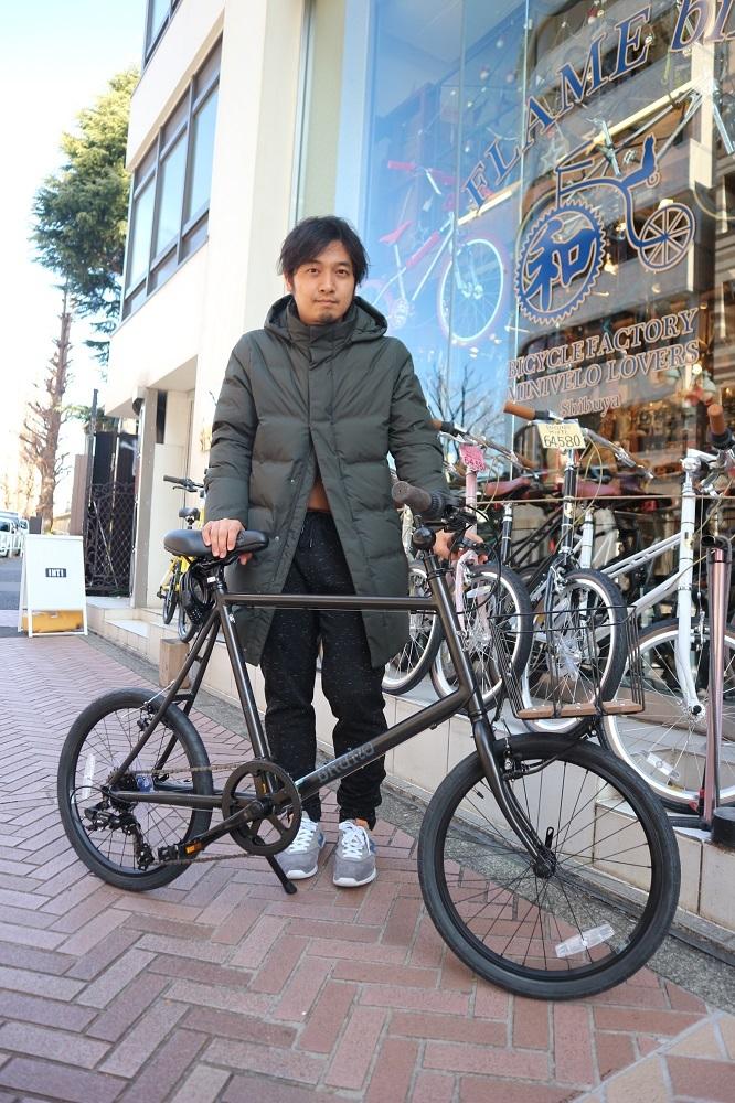 1月19日 渋谷 原宿 の自転車屋 FLAME bike前です_e0188759_18381266.jpg