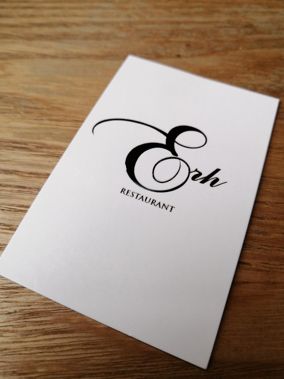 パリ 日本人シェフの店 Restaurant ERH_b0060363_19510279.jpg