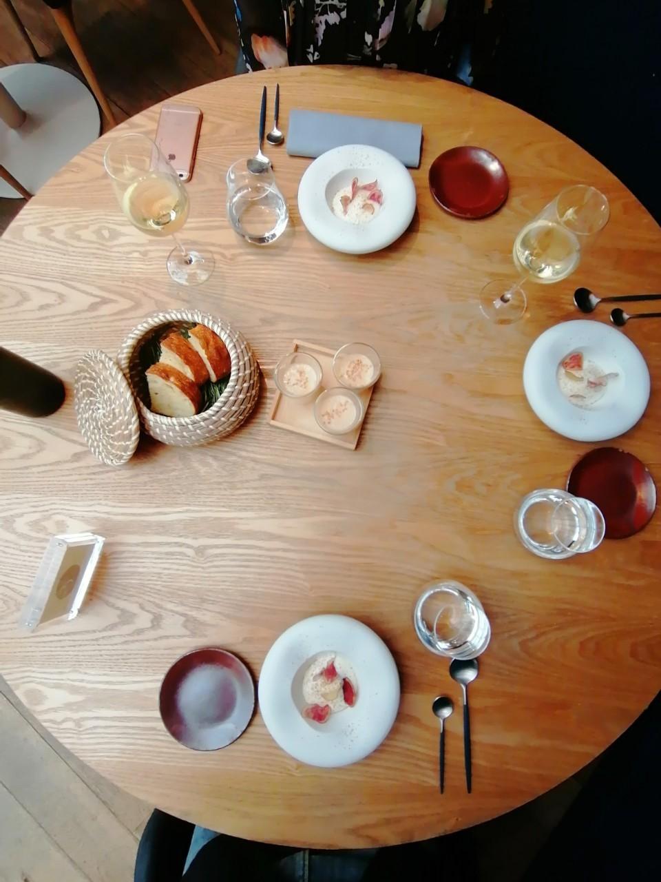 パリ 日本人シェフの店 Restaurant ERH_b0060363_19544411.jpg