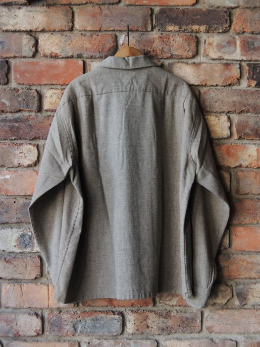 50S CONCORDIA WOOL O/C SOLID SHIRT--RECOMMEND--_d0334976_14052934.jpg