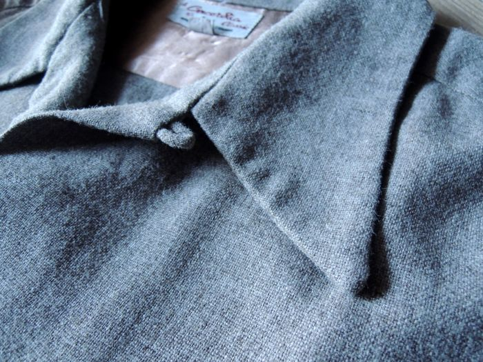 50S CONCORDIA WOOL O/C SOLID SHIRT--RECOMMEND--_d0334976_14080979.jpg