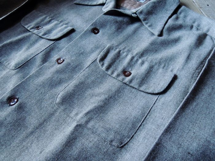 50S CONCORDIA WOOL O/C SOLID SHIRT--RECOMMEND--_d0334976_14130972.jpg