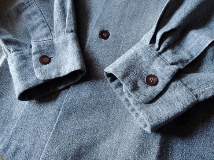 50S CONCORDIA WOOL O/C SOLID SHIRT--RECOMMEND--_d0334976_14145763.jpg