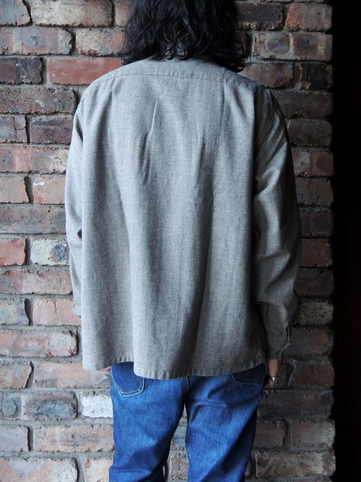 50S CONCORDIA WOOL O/C SOLID SHIRT--RECOMMEND--_d0334976_14215303.jpg