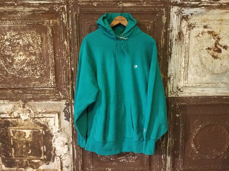 Champion Reverse Weave Hoody Emerald Green_c0226387_16323541.jpeg