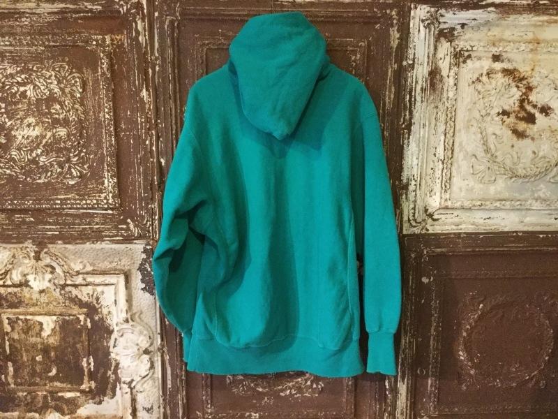 Champion Reverse Weave Hoody Emerald Green_c0226387_16324946.jpeg