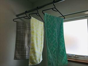 幅の細いバスタオルに入れ替え。我が家のバスタオルの一生・・_a0239890_11315598.jpg