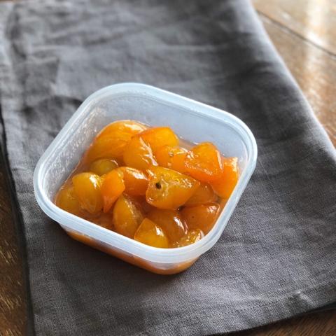 金柑煮とオレンジのフルーツグラタン_f0361692_15003126.jpg
