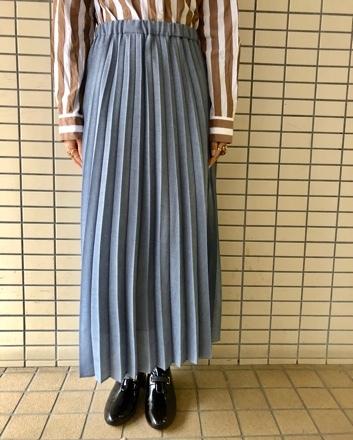 yuni◇麻調ボイルプリーツスカート◇_d0127394_15480571.jpg