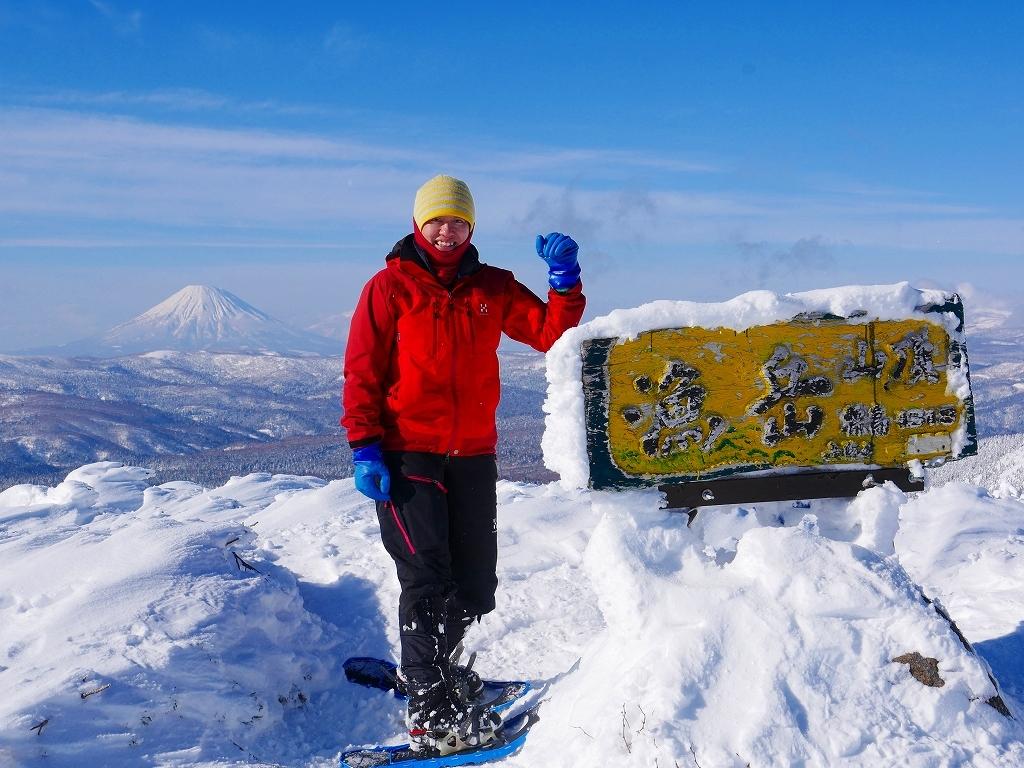 雪から晴天に変わった漁岳、2020.1.19ー速報版ー_f0138096_20484674.jpg