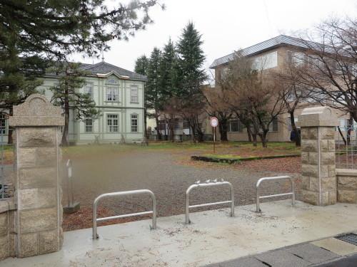 重文本館の朝 2020.1.20 雨_c0075701_09212886.jpg