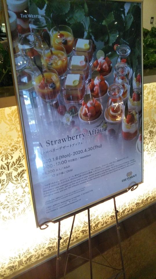 ウェスティンホテル東京 ザ・テラス ストロベリーデザートブッフェ_f0076001_23324263.jpg