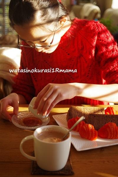 チョコレートシフォン修行♪_c0365711_15424173.jpg