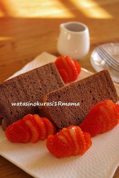 チョコレートシフォン修行♪_c0365711_15424191.jpg