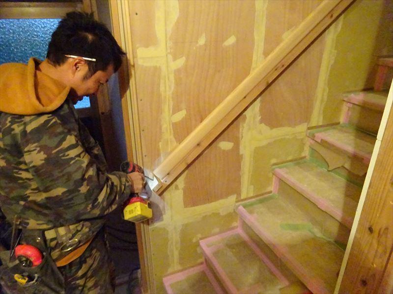 仙北町の家 大工工事が進行中です!_f0105112_04380859.jpg