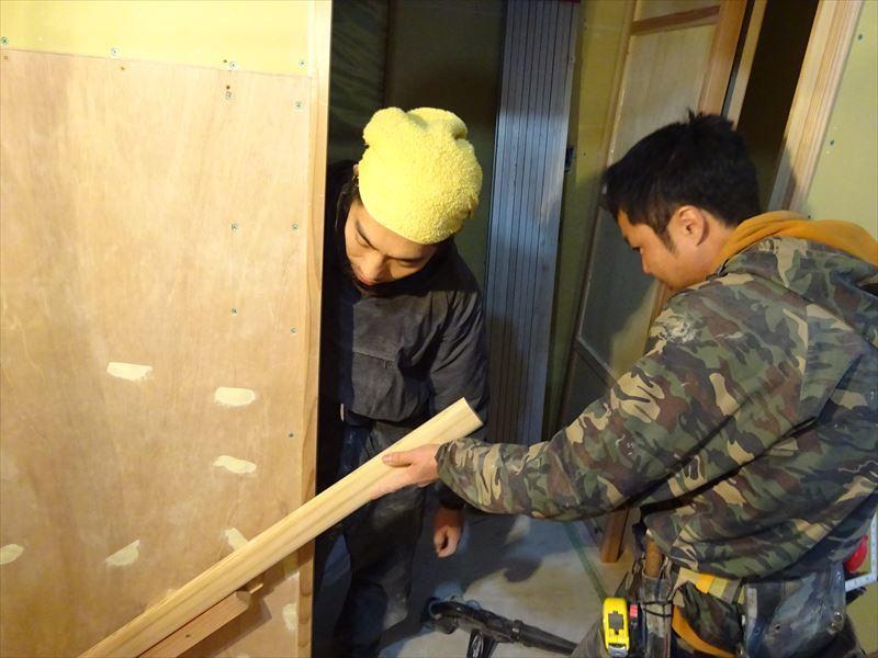 仙北町の家 大工工事が進行中です!_f0105112_04445126.jpg
