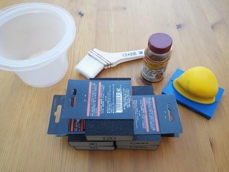 汚れて湾曲したテーブルの修理(1)_b0312424_20090426.jpg