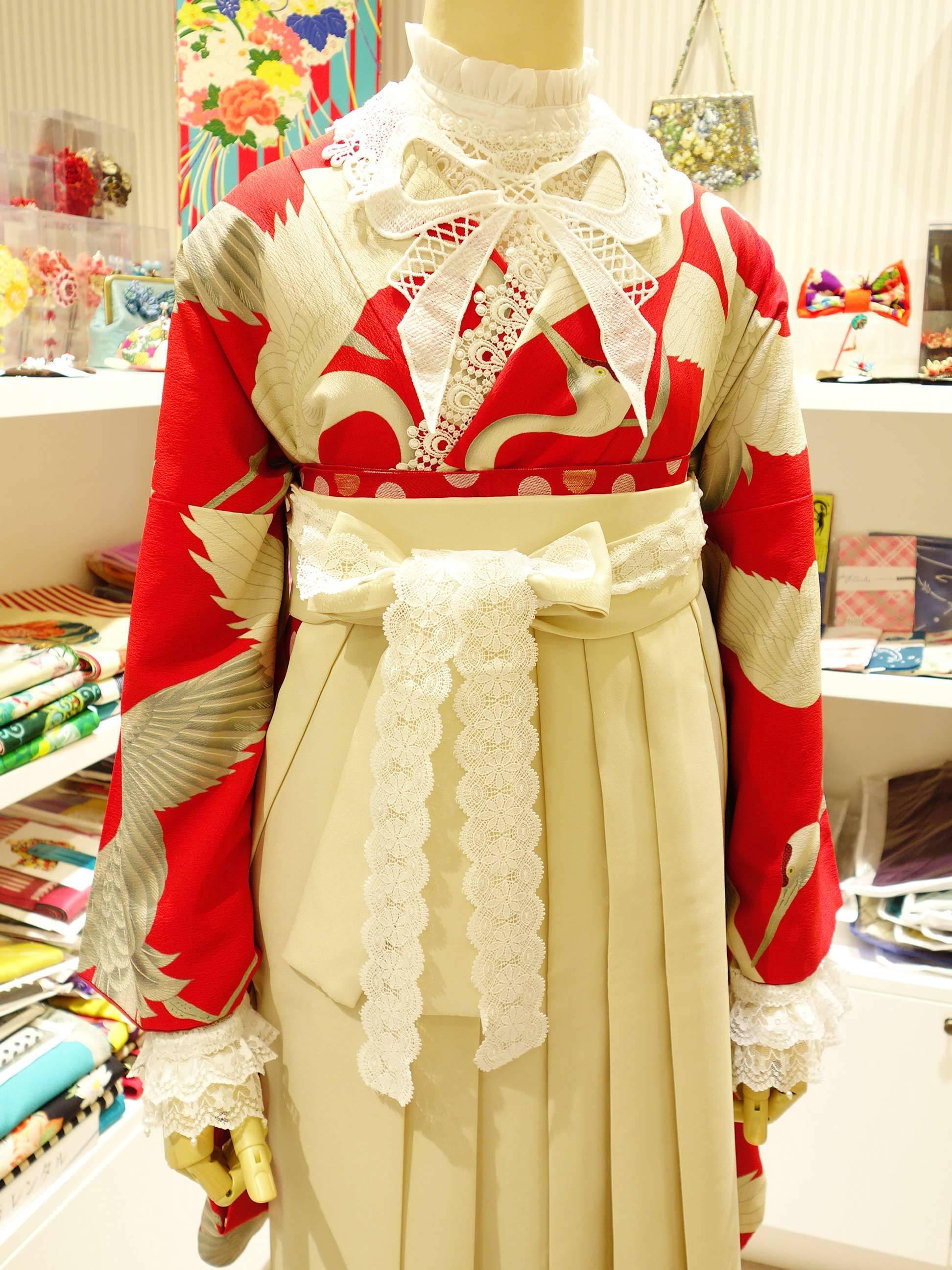 鶴赤2尺着物の袴コーデ紹介_e0167832_15525999.jpg